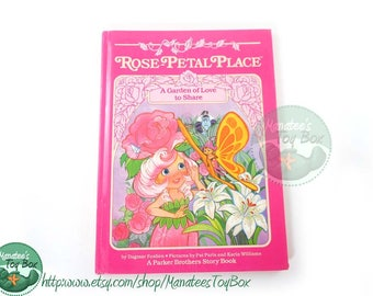 Rose Petal Place Book Vintage 1980s Kids Book