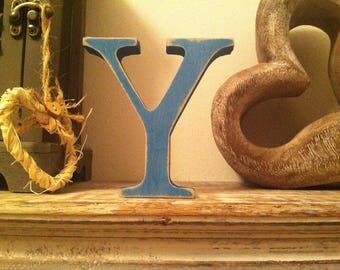 Giant Wooden Letter - Y - Times Roman Font, 50cm high, 20 inch, any colour, wall letter, wall decor - various colours & finishes
