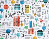 Paris Adventure - Paris Fun by Margaret Berg from Robert Kaufman