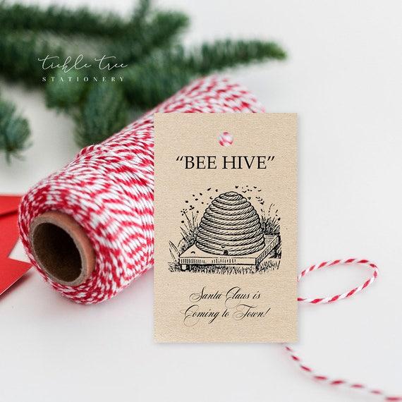 Christmas Gift Tags - Let it BEE Christmas!