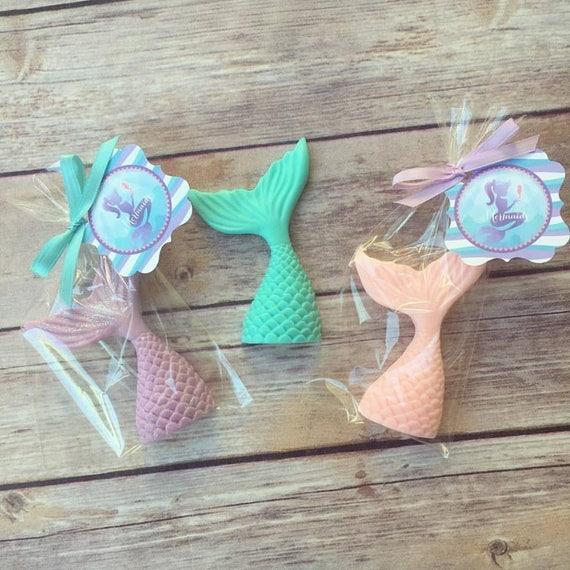 Wedding Favor Ideas Little Mermaid: 15 MERMAID TAIL SOAPS {Favors}