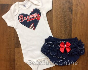 Atlanta Braves Girls Outfit