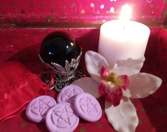 Handmade Pentacle Tokens for Spells Rituals Divination Magic Free Shipping!