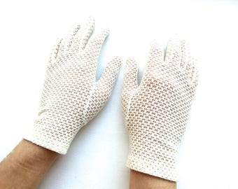 Mid Century Bride's White Gloves