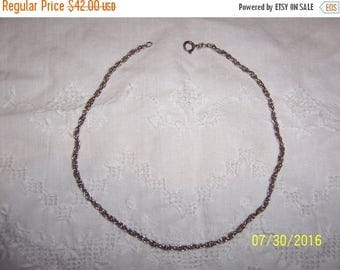 TWICE A YEAR, 25% Off Vintage Rope Chain. Sterling silver.