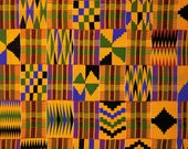 SECONDS GRAB BAG! 4 Pieces Of Assorted Kente Cloth Premium Patterned Heat Transfer Vinyl Vibrant Vinyl™,  Kente Vinyl, Kente Fabric
