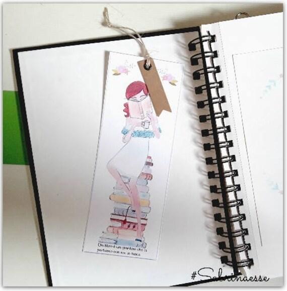 Segnalibro,watercolour bookmarks