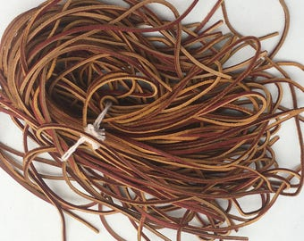 Bundle of Rawhide Laces