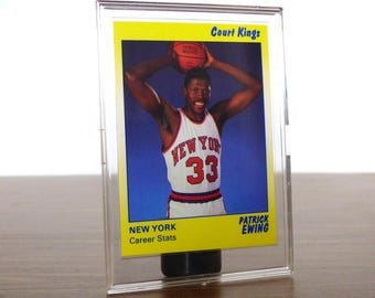 1990 Patrick Ewing Star Co. Card Basketball NBA New York Knicks 37