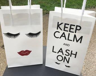 Customer Appreciation Bags Lash Artist Customer Thank You Bags
