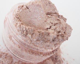 Pink Eye Shadow Icy Pale Highlighter Mineral Makeup Eye Shadow 10g Sifter Jar Shimmer Glitter Eyeshadow Natural Organic Vegan DOLL PARTS