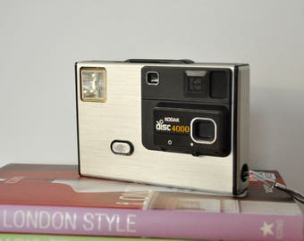 Kodak Disc 4000 camera | Kodak Disc camera | Kodak pocket camera | 80s camera |