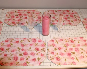 Reversible Valentine's Day/ St Patrick's Day Placemats