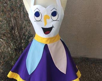 Small- Chip apron dress