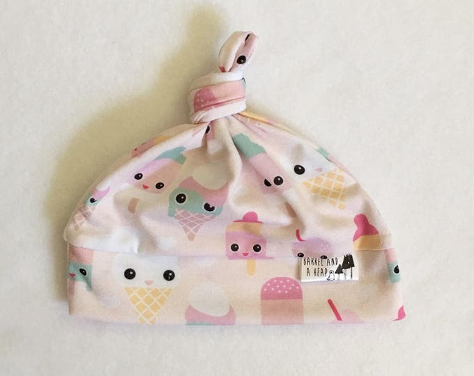 Popsicle Knotted Baby Hat