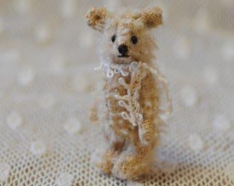 Chad,miniature teddy bear artist by Little Bear