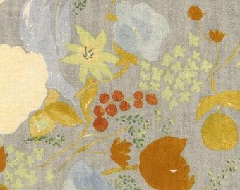 Nani Iro Japanese fabric Fuccra Rakuen in brushed cotton - 1/2 YD