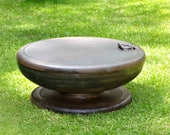 "RESERVED for SAM - Fire Pit 43"" Lid for 42"" Fire Pit w/Two handles"