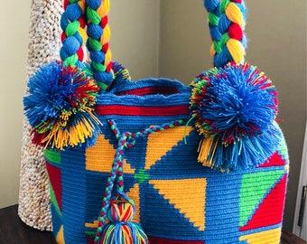 Colorful Bucket Bag