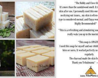 Pick 4~ Handmade Natural & Nourishing Bar Soaps