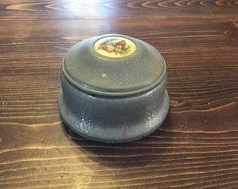 Vintage Musical Trinket Box,Metal Trinket Box