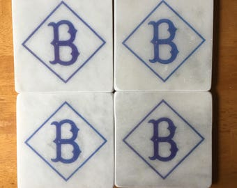 Brooklyn Dodgers Coasters Set of 4
