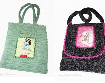 crochet bag PIN UP