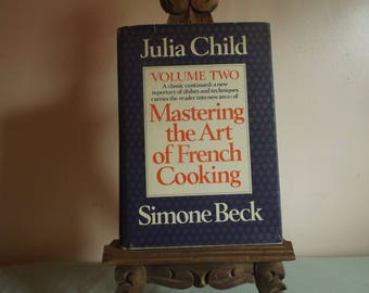Mastering the Art of French Cooking Vol II - Julia Child- 1970 - First Edition - Borzoi Books Alfred Knopf