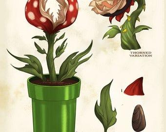 Gamer Botanical: Piranha Plant