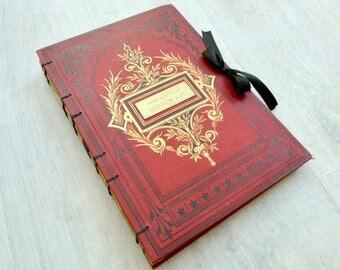 Unique Photo Guestbook, Wedding Scrapbook, Anniversary Guestbook, Honeymoon Journal, Personalized Wedding Guestbook, Instant Photo Guestbook