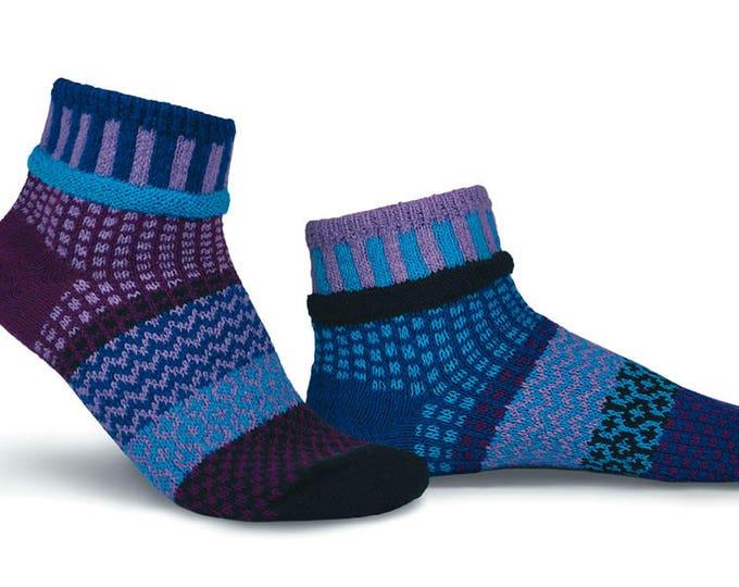 Solmate Socks - Violet Anklet Socks