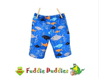 Boys Shorts Sewing Pattern. Toddler Pants Pattern. Toddler Sewing Pattern, Boys Pants, Children Clothing Pattern. pdf Sewing pattern Finley