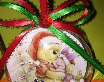 Winnie the pooh and piglet themed ornament