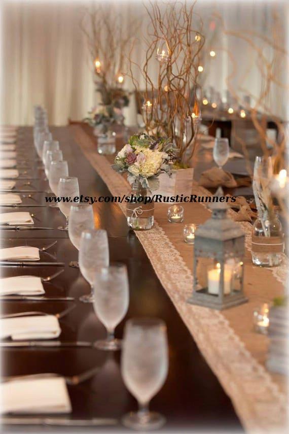 Rustic Wedding Burlap and Natural