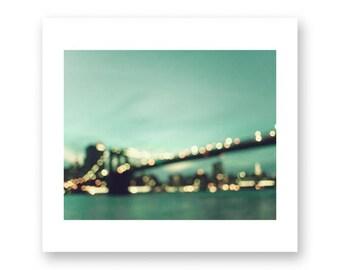 New York print, New York photography, canvas art, large wall art, New York wall art, New York City, NYC, New York canvas, Brooklyn bridge