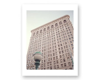 New York photography, canvas art, large wall art, New York print, New York prints, New York City, NYC, New York canvas wall art, Flatiron