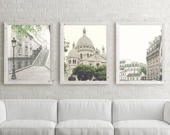 Paris photography, canvas art, Paris prints, Paris wall art, large wall art, Paris canvas, canvas wall art, white art, Paris photos, art