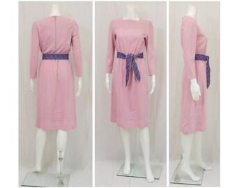 LESLIE FAY PETITES Pink Dress Size 8 Petite 8P