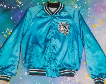 Florida Marlins Chalk Line Jacket Size L