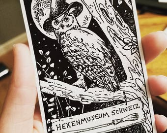 Sketch Request on Blank Everyday Witch Tarot Card