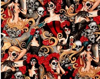 Alexander Henry - Las Elegantes - Dia de los Muertos - BTY