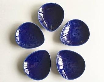 ON SALE Vintage Rorstrand Blå Eld - Blue Fire -  Dish Set