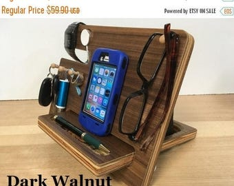 50% OFF SALE Apple Watch Docking Station iPhone Dock, iPhone Docking Station, Father's Day Gift  Smartphone Dock iPhone Charging Station