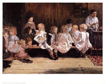 Max Liebermann-Infant School-1980 Poster