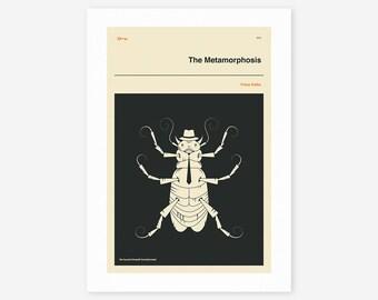 THE METAMORPHOSIS (Giclée Fine Art Print/Photo Print/Poster Print) by Jazzberry Blue