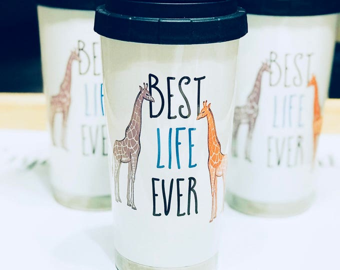 Featured listing image: Best Life Ever 16oz. Stainless Steel Thermos - Animals
