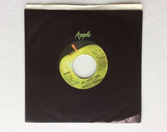 George Harrison , My Sweet Lord, 45 rpm, Apple Records