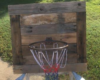 Basketball goal, basketball, goal, rustic basketball goal, basketball net