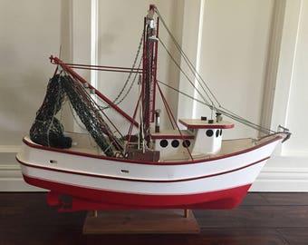 Nautical Fishing Boat