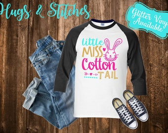 Little Miss Cotton Tail Easter Shirt